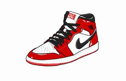 Jordan Air Sneaker Nike Shoe Animation Redesign