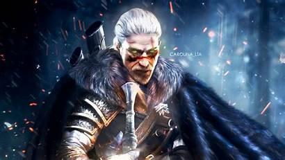 Geralt 4k Rivia Witcher Wallpapers Artwork Games
