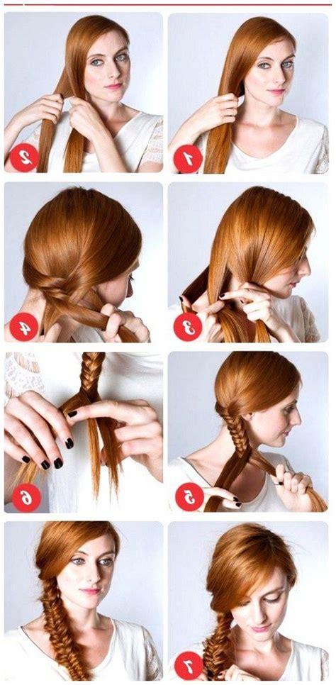 easy wedding hairstyles step by step trenzas simple