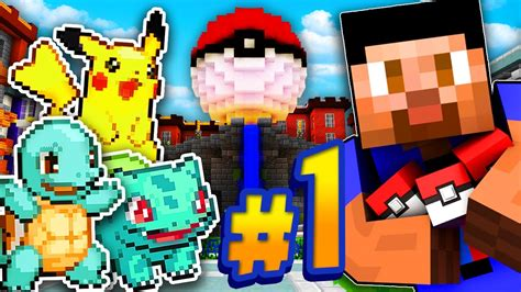 New Adventure!  Minecraft Pokemon Go #1 Youtube