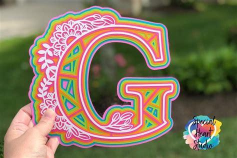 Free svg image & icon. FREE Layered Mandala Alphabet SVG | Mandala, Cricut crafts ...