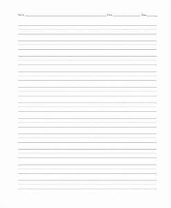 22 lined paper templates free premium templates With cursive writing paper template