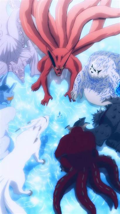 Naruto Wallpapers Tailed Beasts Android Anime Cave