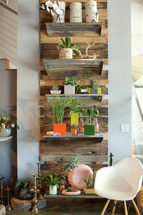 upcycled pallet wall shelves upcycle art