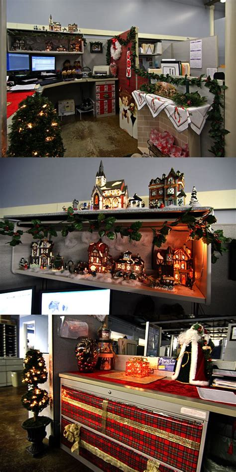 cubicle christmas decorations decorated cubicles for cubicledecorating cubicledecor decorated cubicles office