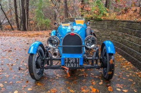 Is close as you can get to authentic. 1927 Bugatti Type 35 Replica Kit Car 35B / 37A - Like ...
