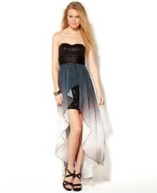 junior bridesmaid dresses macy s speechless juniors dress strapless from macys