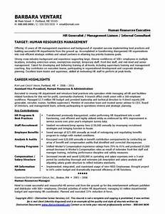 resume sample for hr manager With human resources manager resume