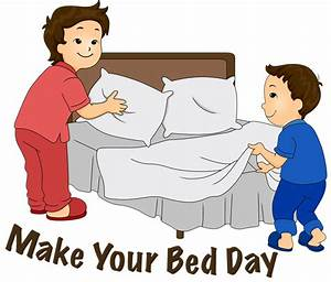 Make Your Bed Day Clipart - The Cliparts
