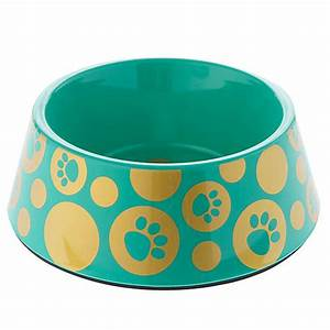 top pawr glitz paws dog bowl dog food water bowls With petsmart dog dishes