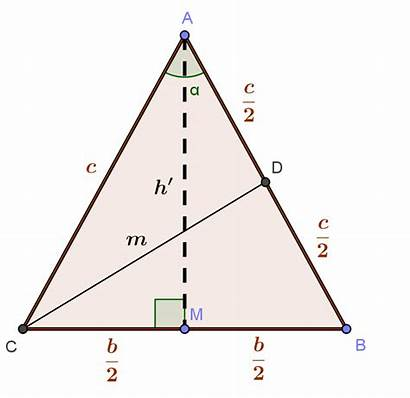 Triangle Angle Isosceles Vertex Cosine Having Area