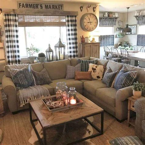 rustic farmhouse living room decor ideas bellezaroomcom