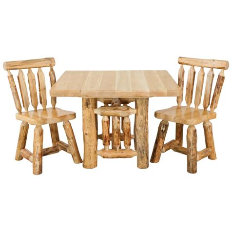 30323 log dining table best rustic pine kitchen table minnesota pine log dining room