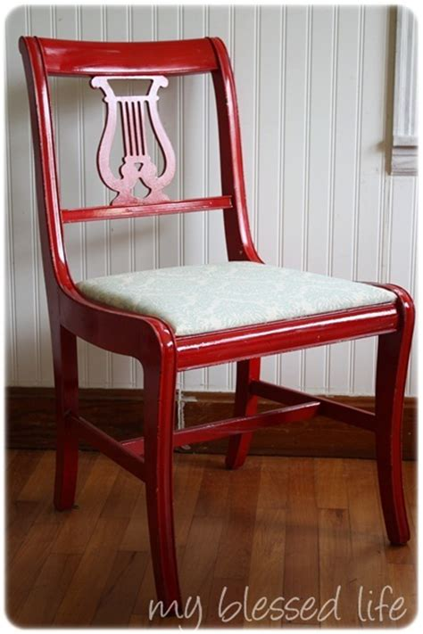kitchen chair makeover