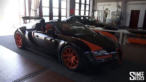 Is the manufacturer of the world's most powerful, fastest, most exclusive and bugatti's european test drive tour with the chiron pur sport started, of course, in its home. How to Remove the Roof of a Bugatti Veyron Grand Sport Vitesse WRC - YouTube