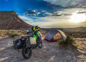 Buying Quality Motorcycle Camping Gear On The