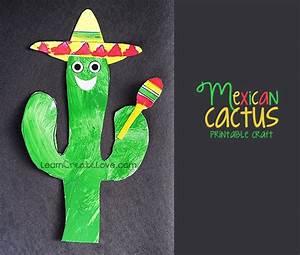 Mexican Cactus Craft Freebie - Printables 4 Mom