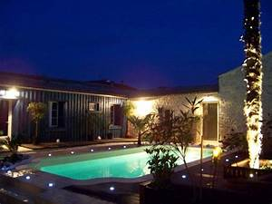 eclairage de piscine exterieur eclairage de piscine With eclairage exterieur terrasse piscine