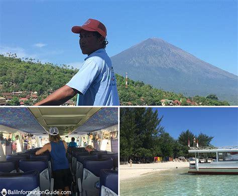 Marina Boat Gili Trawangan by Gili Air Bali Information Guide