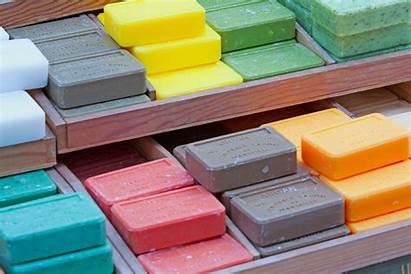 Soap Industry Molecule Bar Cleaning Dollar Web