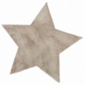 tapis etoile gris taupe pilepoil pour chambre enfant With tapis gris taupe