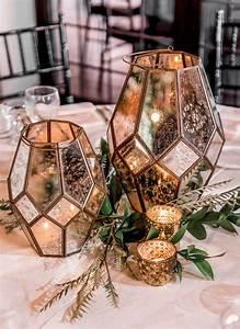 Mercury, Glass, Geometric, Candle, Holders