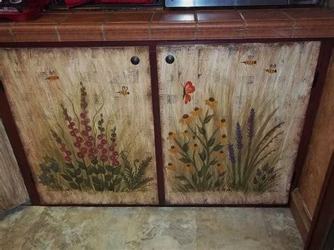 How To Paint Cupboard Doors by 2 Bottom Kitchen Cupboard Doors I Painted Garden