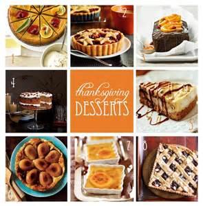 thanksgiving dessert ideas seasonal treats
