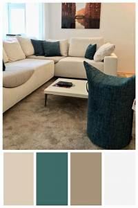 Gemütliche Wohnzimmer Farben : moderne und gem tliche farbpalette zum beispiel f r ein wohnzimmer mit farben l sst sich ~ Watch28wear.com Haus und Dekorationen