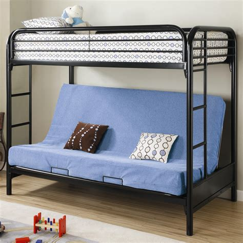 double bunk sofa bed fordham twin over full futon metal bunk bed lowest price