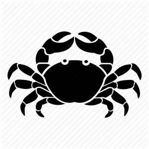 Astrology, cancer, crab, horoscope, sign, star, zodiac icon