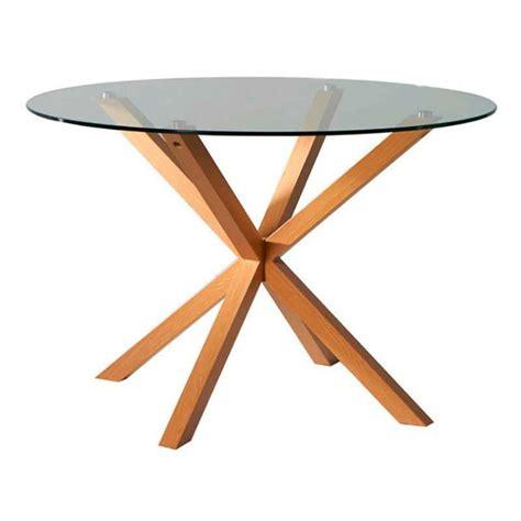 mesa redonda cuca de cristal