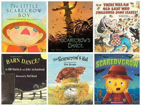 5 scarecrows poem and powerpoint for 593   Scarecrow Books for Preschool