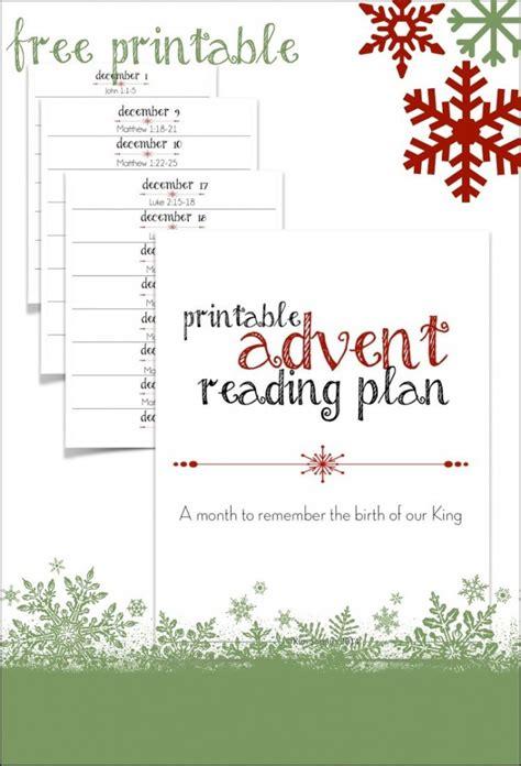 Free Printable Advent Scripture Reading Plan  Free Homeschool Deals