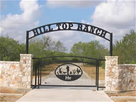 ideas  custom metal ranch entrance gates