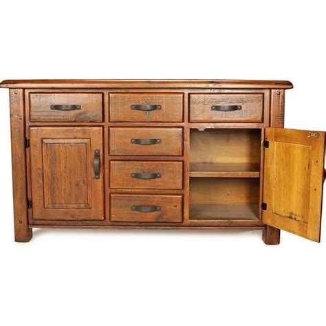 Farmhouse Sideboards And Buffets by Farmhouse Rustic Solid Wood Sideboard Buffet 1 5m Buy