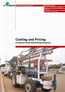 Pdf  Costing And Pricing A Guide For Water Well Drilling