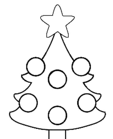 idea albero natale disegno da colorare pagine da colorare