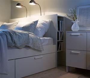 Mücken Im Schlafzimmer Bekämpfen : bett brimnes bei ikea sch ner wohnen ~ Markanthonyermac.com Haus und Dekorationen