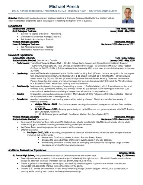 cheerleading coach resume