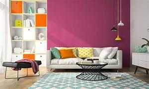 Wohnzimmer Farbe Rot