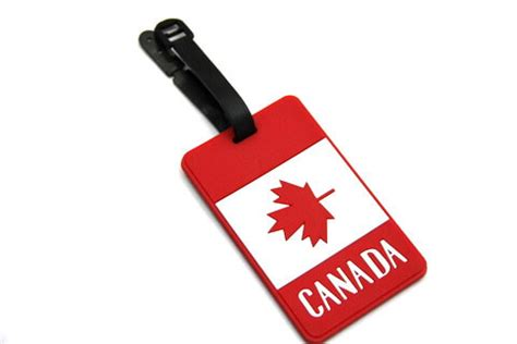 Siliconerubber Luggage Tags Of National Flag