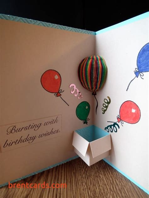 Cool Homemade Birthday Card Ideas Awesome 25 Best Ideas