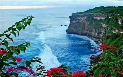 Bali Indonesia Uluwatu Temple Pura Sea Luhur