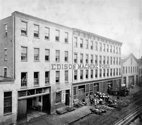 Edison Electric Light Company by Edison Machine Works