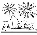Opera Sydney Coloring Australia Pages Colouring Printable Houses Template Australian Christmas Thecolor Olympics Coloringpages101 Celebrations Templates Fireworks Lovely Patterns Holiday sketch template