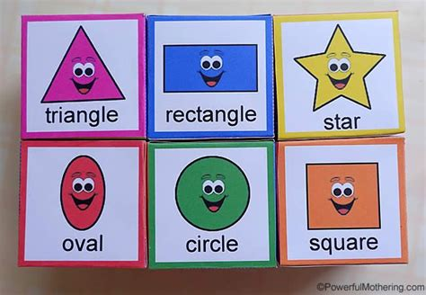 shape sorting blocks   printable shapes