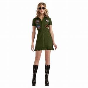 Top Gun Flight Dress Top Gun costume for women