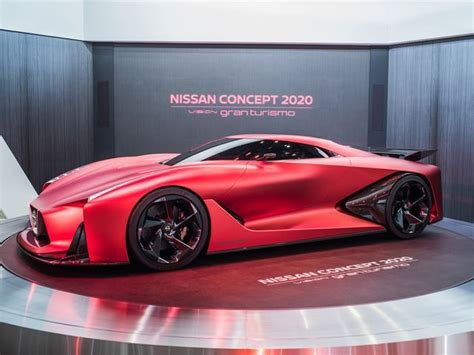 nissan gtr concept gran turismo side view  car