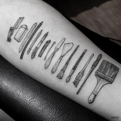 tatouage cuisine narzędzia pracy wytatuowane na skórze magazyn hiro